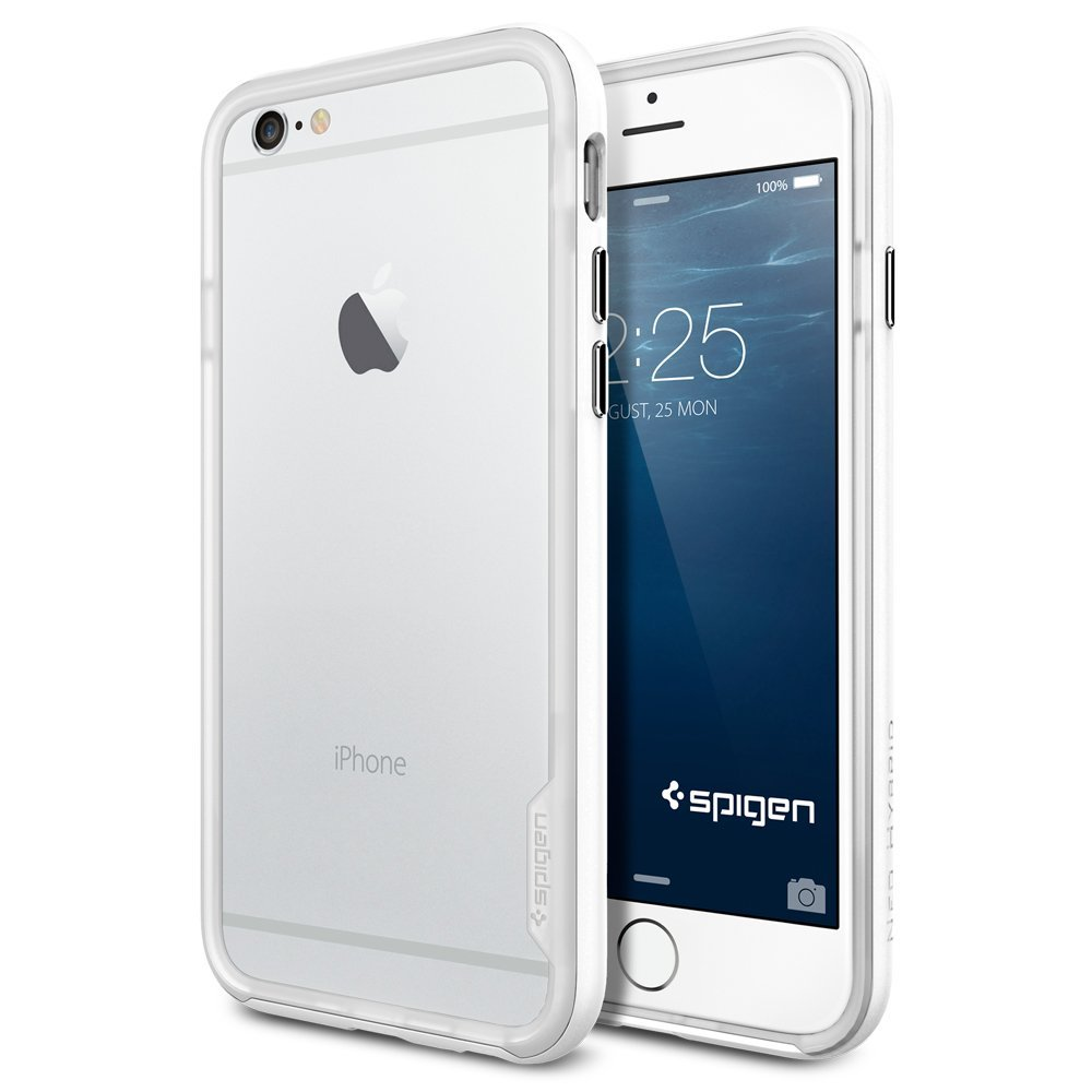 Купить Spigen Neo Hybrid EX (SGP11029) - бампер для iPhone 6/6S (Infinity White)