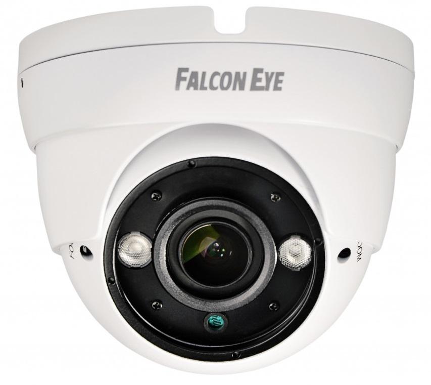 Falcon Eye (FE-IDV720AHD/35M) - уличная купольная AHD-видеокамера (White)