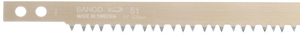 Bahco 51-21 - полотно для лучковой пилы 530 мм