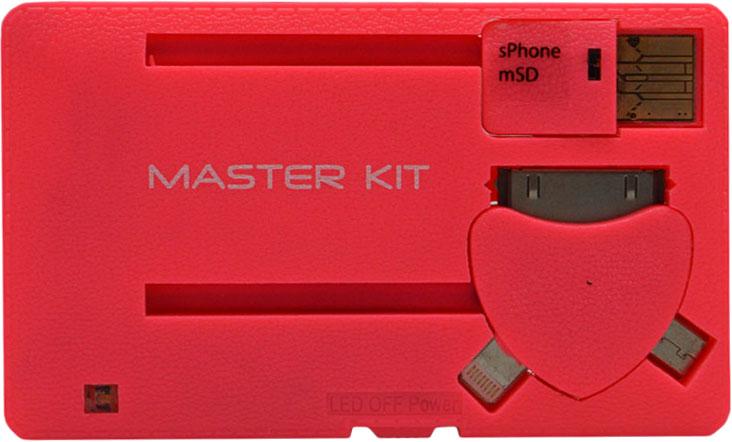 Мастер Кит MT1099 8 Гб - портативное зарядное устройство (Rose)