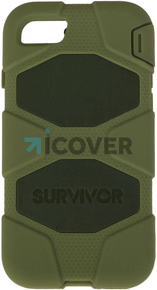 Griffin Survivor - противоударный чехол для iPhone 7 (Green)