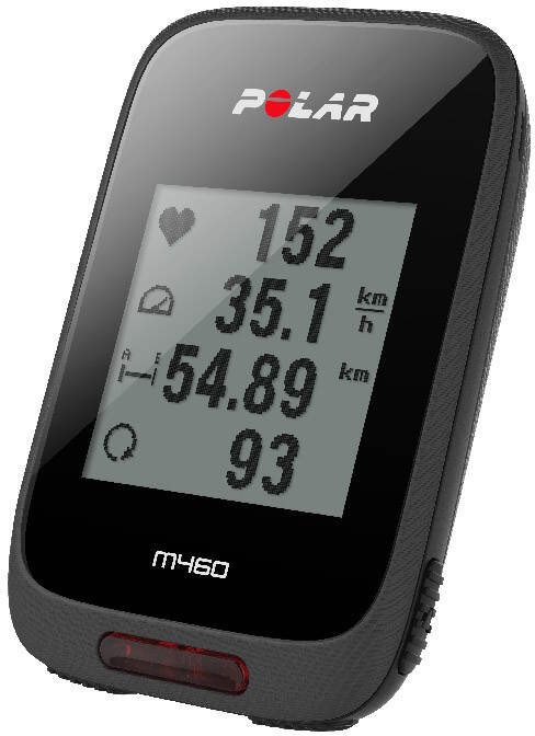 Polar M460 HR (90064872) - велокомпьютер (Black)  polar m400 hr