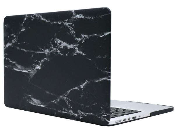 Чехол-накладка пластиковая i-Blason для Macbook Pro Retina 13 (Black Marble)