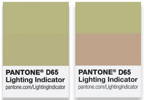 Pantone Lighting Indicator Stickers D65 (LNDS-1PK-D65) - цветовой справочник