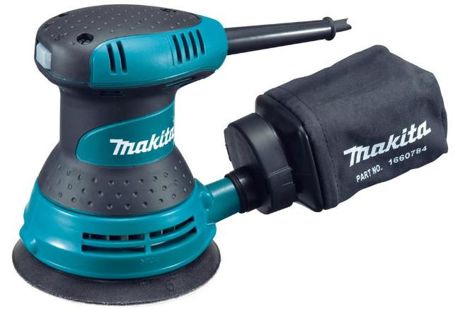 Makita BO5030K - шлифмашина эксцентриковая (Blue) от iCover