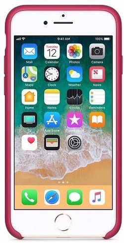Чехол Apple Silicone Case (MQGT2ZM/A) для iPhone 7/8 (Rose Red)