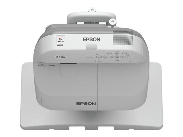 Epson EB-575Wi - стационарный широкоформатный проектор  цены