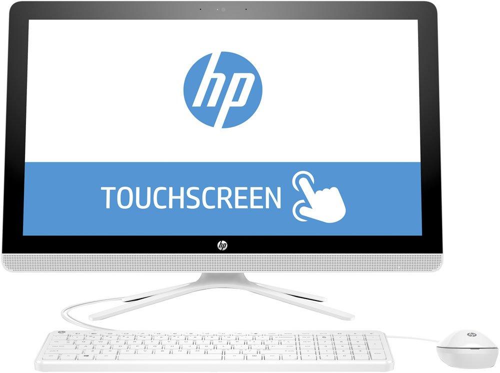 Моноблок HP 24-g058ur 23.8, Intel Core i5-6200U, 2.3Ghz, 8Gb, 1Tb HDD + 8Gb SSD (X0Z65EA#ACB) White