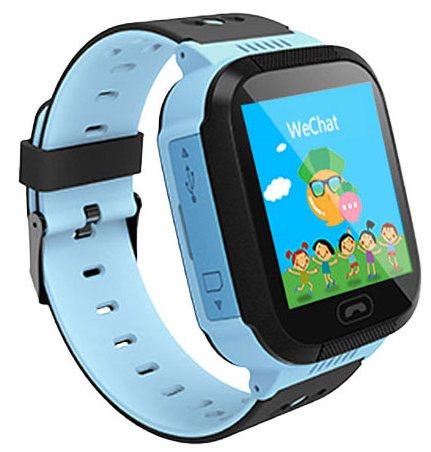 Кнопка Жизни J112 (900884) - часы-телефон с GPS (Blue)