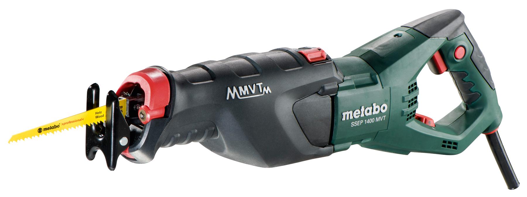 Metabo SSEP 1400 MVT (606178500) - маятниковая сабельная пила (Green)