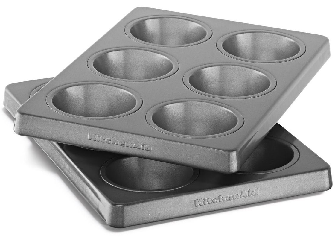 KitchenAid Professional-Grade Nonstick 6-Cavity Regular Sized Muffin Pan KBNSS06MF