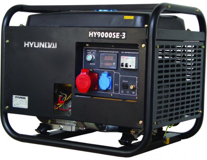 Hyundai HY 9000SE-3 - генератор бензиновый
