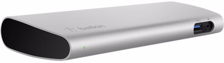 belkin Расширитель портов ввода-вывода Belkin Thunderbolt 3 Express Dock HD F4U095 (Grey) F4U095