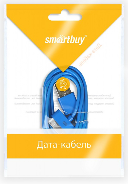 Smartbuy iK-412c 1.2 m - кабель USB - 30-pin (Blue)