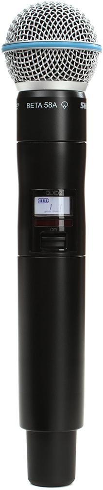 Shure QLXD2/B58 K51 - ручной передатчик (Black)