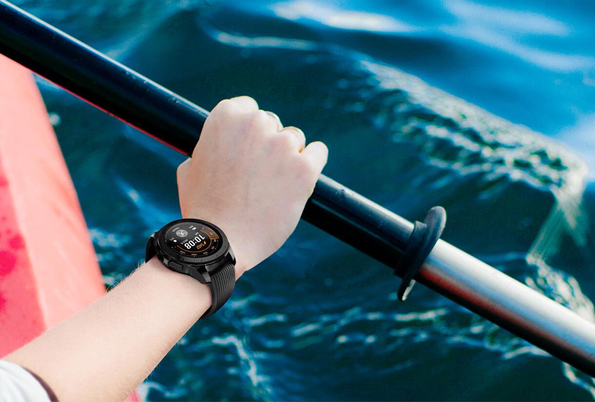 Умные часы Samsung Galaxy Watch 42mm (Onyx Black)