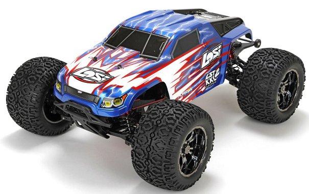 Losi XXL2-E Brushless 1:8 - радиоуправляемый автомобиль (Blue) LOS04004