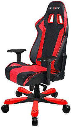 DXRacer OH/KS06/NR - компьютерное кресло (Black/Red)