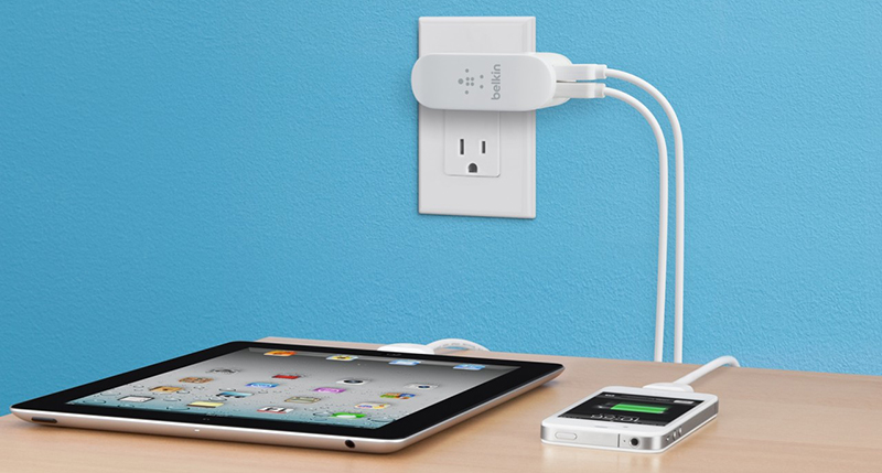 Belkin Home Charger 2-Port (F8J107vfWHT)