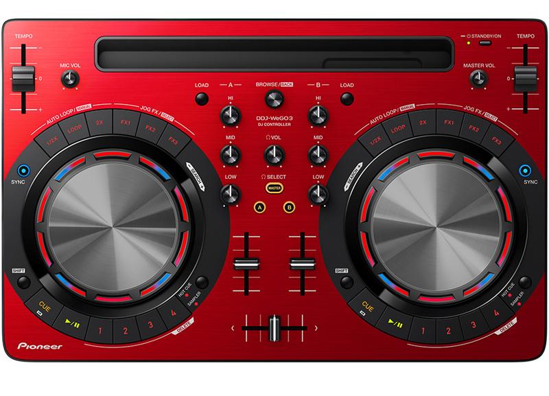Pioneer DDJ-WEGO3-R - DJ-контроллер (Red)