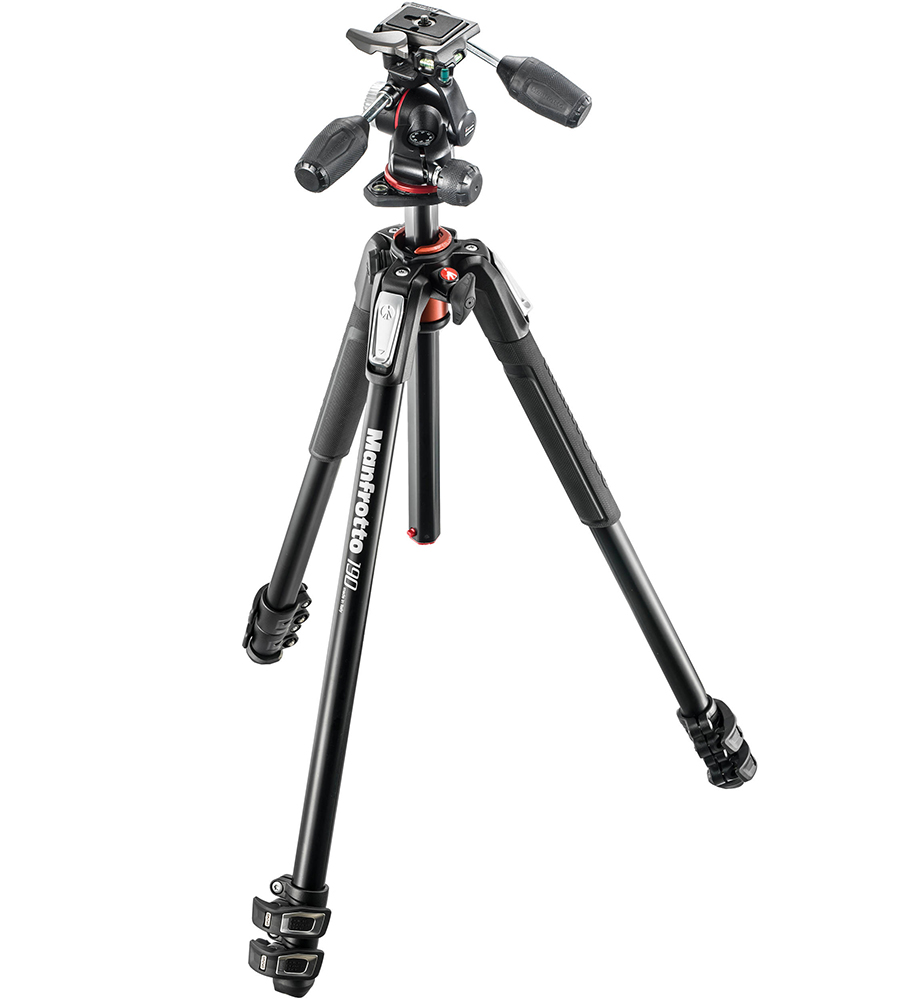 Manfrotto MK190XPRO3-3W - ������ + 3D-������� ��� ���������