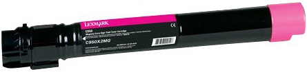 Lexmark Toner Cartridge 24K C950X2MG - картридж для принтеров Lexmark C950 (Magenta)