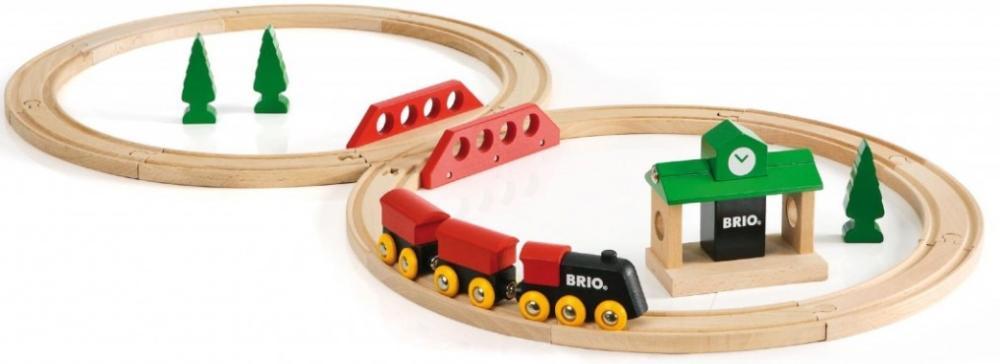 BRIO Железная дорога с вокзалом (33028) - стартовый набор