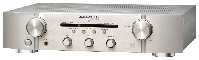 Marantz PM6005 - двухканальный стереоусилитель (Silver/Gold)Стереоусилители<br>Двухканальный стереоусилитель<br>