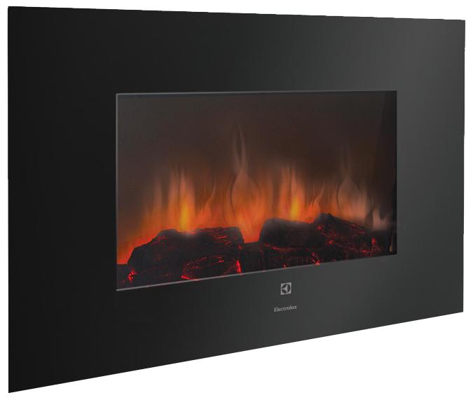 Electrolux EFP/W-1250UL - настенный камин (Black)