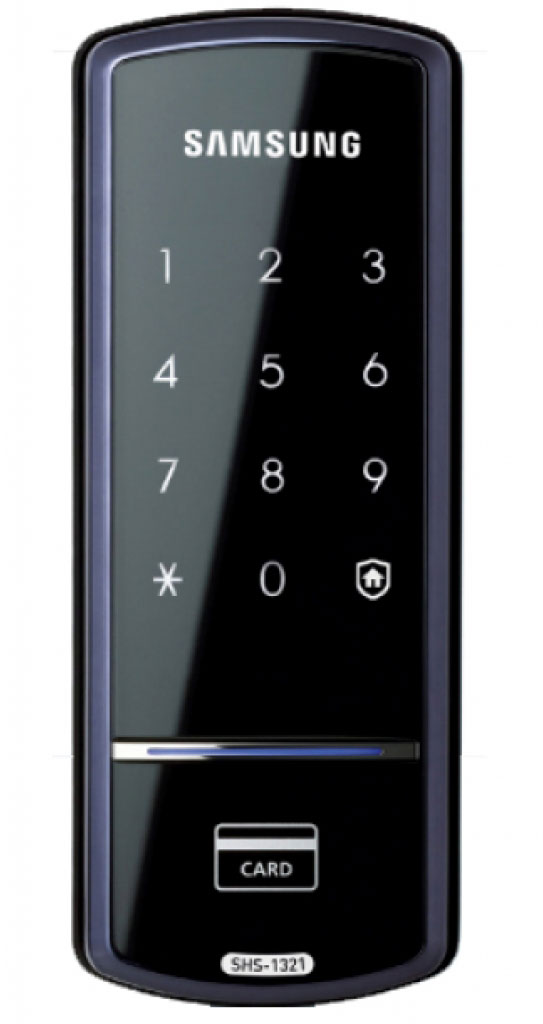 Samsung SHS-1321W XAK/EN - электронный дверной замок (Black) дверной замок в донецке