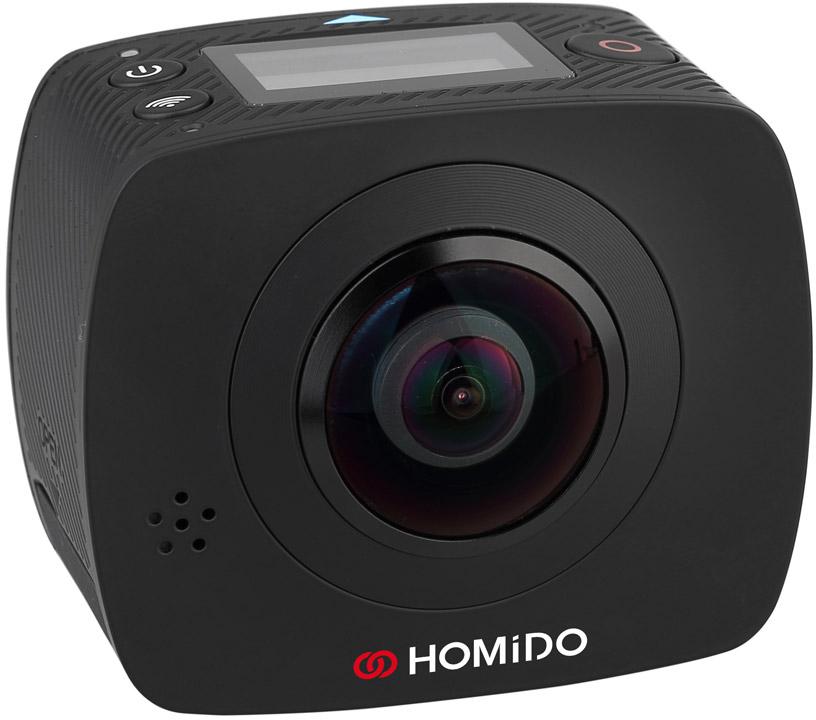 Homido Cam 360 - панорамная видеокамера (Black) видеокамера