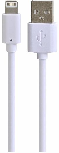 Henca USB to Lightning (he_LD01U-i16p_2m_wht) - кабель для Apple iPhone и iPad (White)