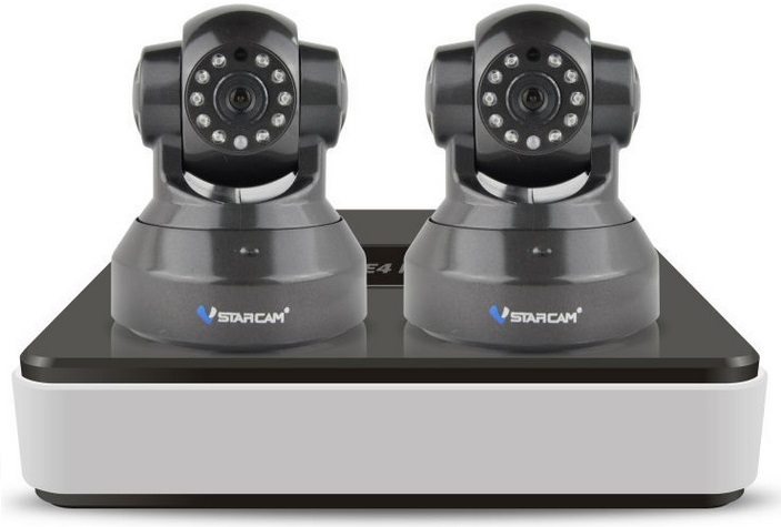 Vstarcam NVR C37 KIT - офисный комплект видеонаблюдения (Black)