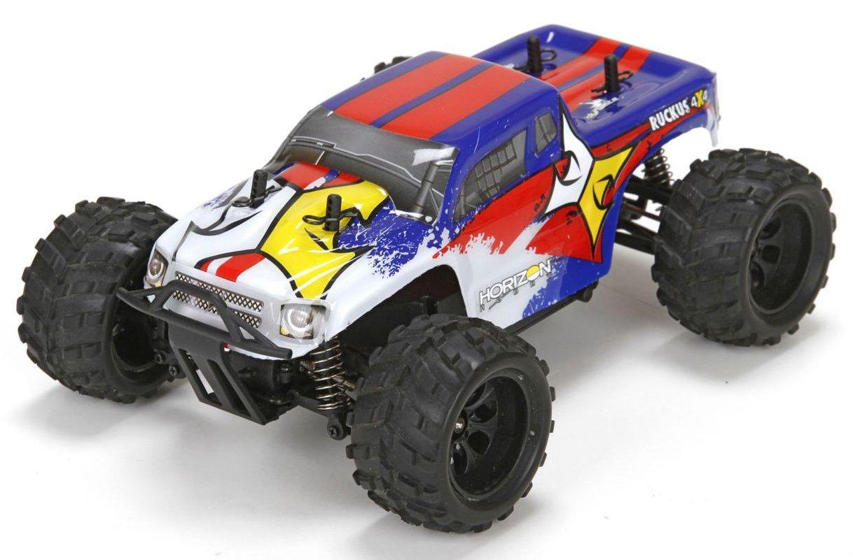 ECX Ruckus 1:24 - радиоуправляемый автомобиль (Blue)