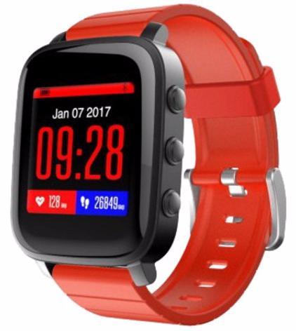 SMA Time - умные часы (Black/Red)