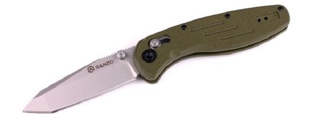 Ganzo G701 (G701-G) - складной нож (Green)