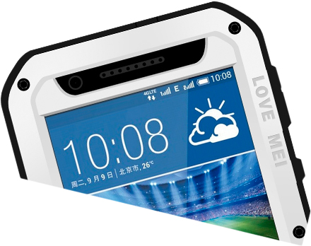 Love Mei Powerful for HTC Desire 820 (White)