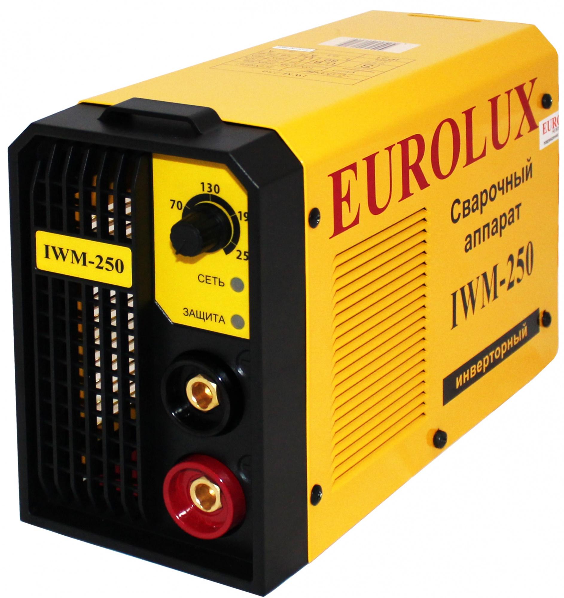 Eurolux IWM250 (65/29) - инверторный сварочный аппарат