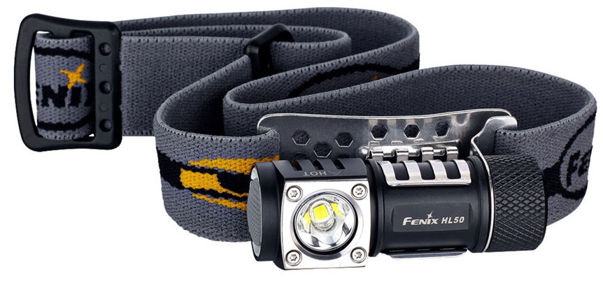 Fenix HL50 Cree XM-L2 Т6 - налобный фонарь (Black)Фонари<br>Налобный фонарь<br>