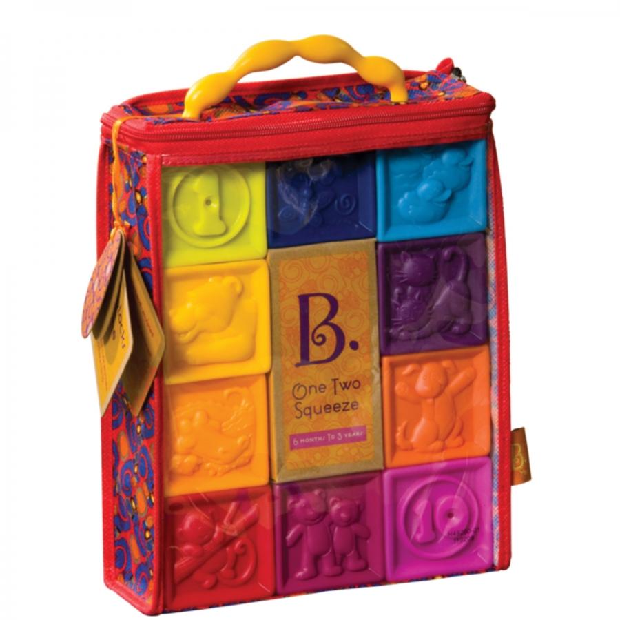 Battat B. Dot 68602 - мягкие кубики