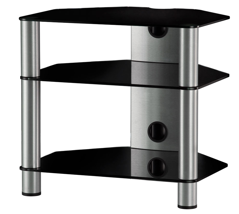 Sonorous RX 2130 - стойка для аудио-видео оборудования (Black/Silver)
