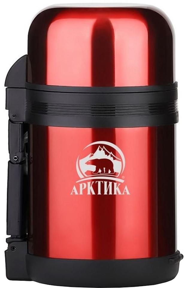 Арктика 202-800 0.8 л - термос универсальный с широким горлом (Red)