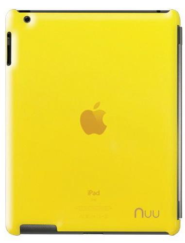 NUU BaseCase - чехол для iPad 2/iPad 3/iPad 4 (Giallo)