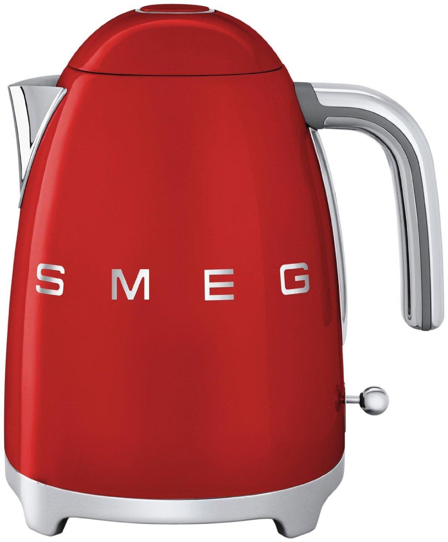 Smeg KLF02RDEU - чайник электрический (Red) smeg klf02sseu чайник электрический chrome
