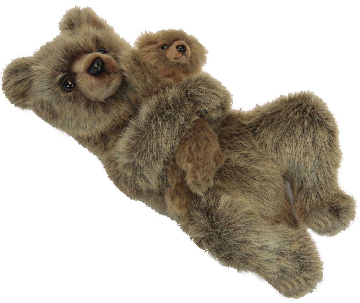 Hansa Медведица с медвежонком (6555) - мягкая игрушка