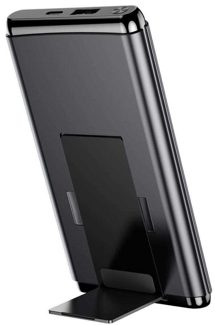 Внешний аккумулятор Baseus Wireless Charger 10000 mAh WXHSD-D01 (Black)