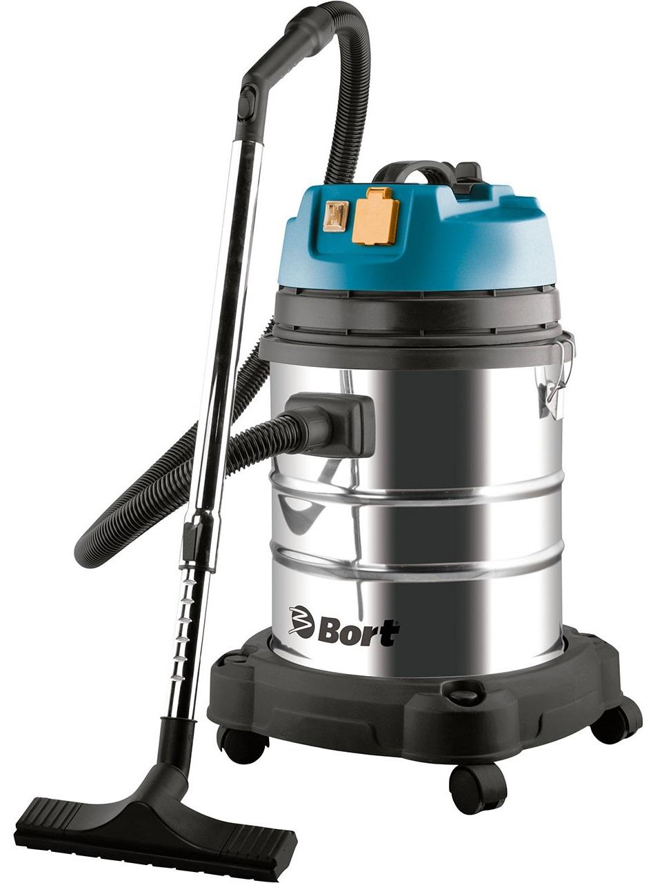 Bort BSS-1440-Pro (98297089) - пылесос промышленный (Silver/Black)