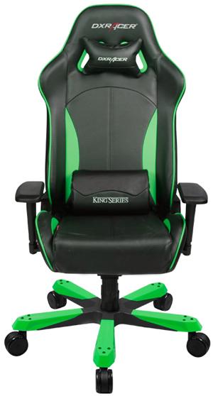 DXRacer King OH/KS57/NE - компьютерное игровое кресло (Green)