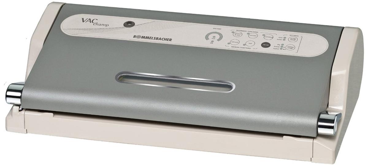 Rommelsbacher VAC 500 - вакуумный упаковщик (Grey)