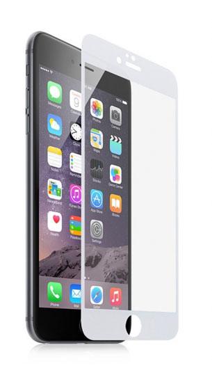 Защитное стекло Onext 40936 для Apple iPhone 6 Plus (White)